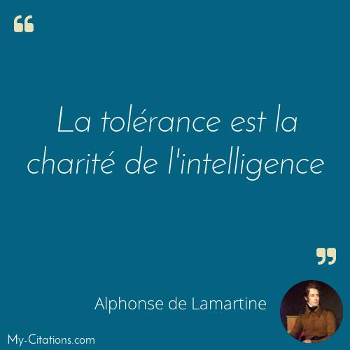 Citation Alphonse De Lamartine