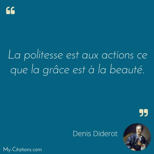 Citation Denis Diderot
