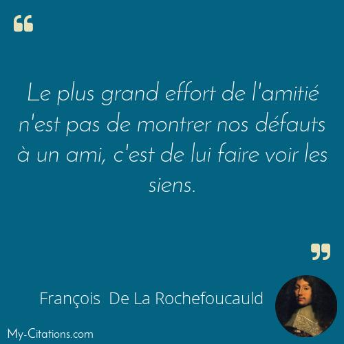 Citation François De La Rochefoucauld