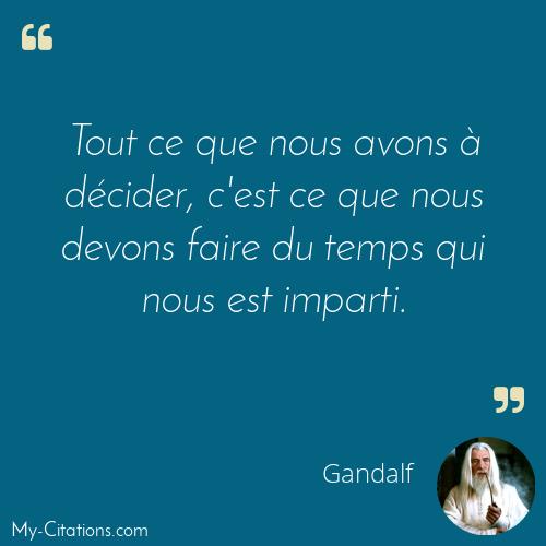 Citation Gandalf
