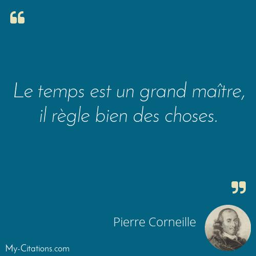 Citation Pierre Corneille