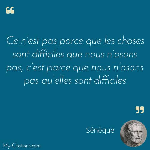 Citation Sénèque