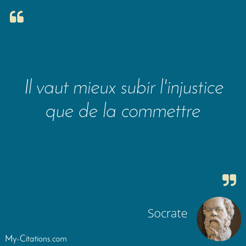 Citation Socrate