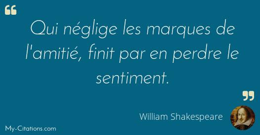 Citation William Shakespeare